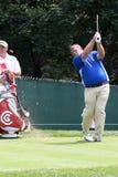 профессионал john игрока в гольф daly стоковое изображение