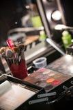 Профессионал составляет комплект цвета стоковое изображение rf