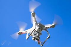 Профессионал фантома 3 quadrocopter трутня стоковое изображение