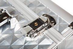 Профессиональная алюминиевая изолированная коробка состава Стоковое Изображение
