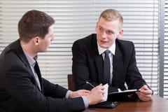Профессиональная деловая встреча Стоковые Изображения