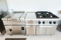 Профессиональная кухня Стоковые Фото
