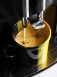 Профессиональная машина кофе Стоковая Фотография RF