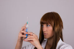 Профессиональная медсестра Стоковые Изображения RF