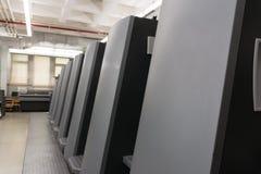 Профессиональная промышленная машина механизма оборудования принтера Mech иллюстрация вектора