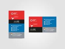 Профессиональная социальная визитная карточка Стоковые Изображения RF