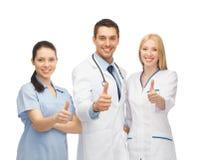 Профессиональные молодые команда или группа в составе доктора Стоковые Фотографии RF