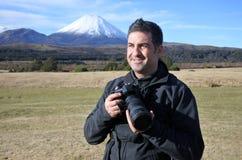 Профессиональные природа, живая природа и фотограф перемещения стоковое фото rf