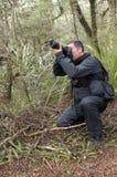 Профессиональные природа, живая природа и фотограф перемещения Стоковое Изображение