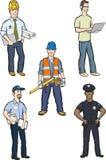 Профессиональные люди бесплатная иллюстрация