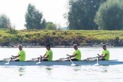 Профессиональные rowers каное Стоковые Изображения