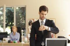Профессиональный бизнесмен Стоковые Изображения RF