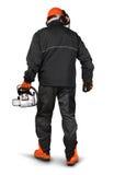 Профессиональный лесопогрузчик с шестерней безопасности Стоковые Фото