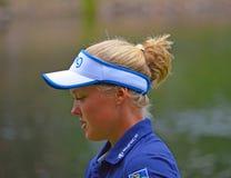 Профессиональный игрок в гольф Brooke Henderson Стоковые Фото