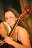 Профессиональный музыкант Стоковые Фотографии RF