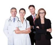 Профессиональный персонал больницы Стоковое Изображение