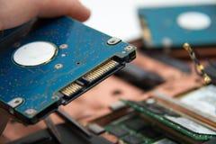 Профессиональный ремонт компьтер-книжки стоковое изображение rf