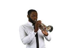 Профессиональный трубач Стоковые Фото