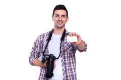 Профессиональный фотограф Стоковое Изображение
