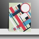 Профессиональный шаблон рогульки или корпоративное знамя Стоковое Изображение