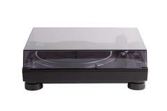 Профессиональный turntable dj с стеклянной крышкой Стоковая Фотография