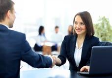 2 профессиональных бизнесмены Стоковая Фотография RF