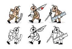 Профессия 8 муравья Стоковые Фотографии RF