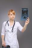 Профессия, доктор женщины стоковое изображение rf