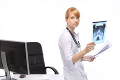 Профессия, доктор женщины стоковая фотография