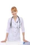 Профессия, доктор женщины стоковые фото
