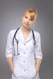 Профессия, доктор женщины стоковые изображения rf