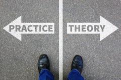 Профессия теории и образования практики уча busine успеха Стоковая Фотография RF