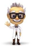 Профессор говорит здравствуйте! Стоковые Изображения RF
