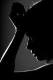 профиль девушки Стоковая Фотография RF