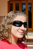 профиль девушки Стоковое фото RF