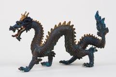 профиль дракона Стоковое Изображение RF