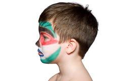 профиль мальчика Стоковые Фотографии RF