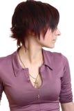 профиль портрета девушки Стоковая Фотография RF