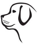 Профиль собаки Стоковые Фотографии RF