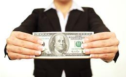 Профит самецов оленя 100 долларов Стоковые Изображения