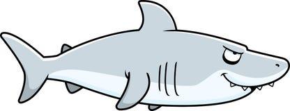 Профиль акулы шаржа иллюстрация штока