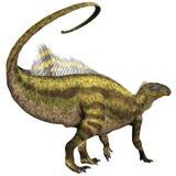 Профиль Tenontosaurus Стоковое Изображение