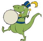 проходить парадом динозавра Стоковое Изображение