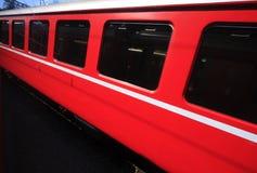 проходить поезд Стоковая Фотография