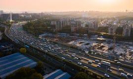 Проход города Нанкина срочный стоковая фотография rf