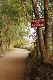 Проход знака животных Стоковое Изображение RF