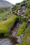 Проходить водопад стоковые фото