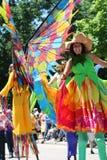 Проходит парадом круг Кливленд 2014 OH Стоковое Изображение
