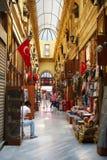 Проход цветка на улице Istiklal, Стамбуле Стоковая Фотография