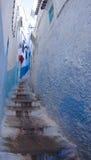 Проход Chefchaouen Medina Стоковые Изображения